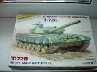 Отдается в дар Сборная модель танка. Т-72В