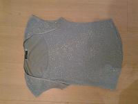 Отдается в дар блузка голубая с серебр блестками р 92