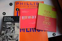 Отдается в дар книги для дизайнеров, художников и для интересующихся современным искусством