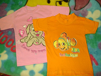 Отдается в дар футболки для девочки