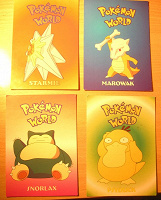 Отдается в дар Покемоны — открытки