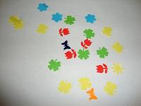 Отдается в дар Фигурное конфетти для детского творчества