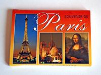 Отдается в дар Открытки-раскладушка «Париж»