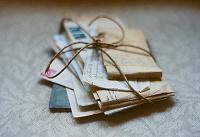 Отдается в дар Старые письма