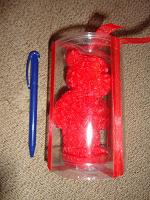 Отдается в дар свечка- мишка