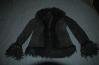 Отдается в дар Замшевая секси-курточка 44 размер