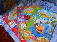 Отдается в дар журналы «смешарики»
