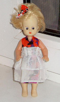 Отдается в дар Кукла АРИ немка 17 см