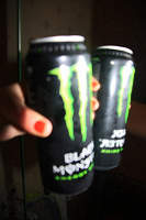 Отдается в дар Энергетик black monster