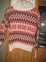 Отдается в дар Ретро свитер