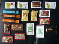 Отдается в дар Португальские сахарные пакетики