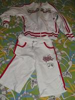 Отдается в дар Клевый спортивный костюм на 122.