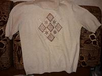 Отдается в дар свитер — водолазка с коротким рукавом
