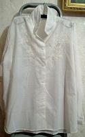 Отдается в дар Белая блузка
