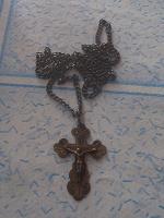Отдается в дар Серебряный крестик
