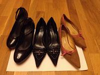 Отдается в дар Туфлевой дар: три пары туфелек