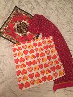 Отдается в дар Палантин, шарфик, платочки