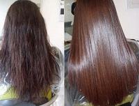 Отдается в дар Кератиновое выпрямление волос