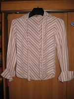 Отдается в дар Сиреневая блузка для школы