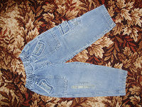 Отдается в дар Дарю джинсы детские рост 104 — 110 см.