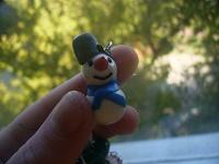 Отдается в дар кулон снеговик