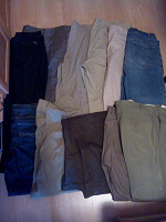 Отдается в дар брюки, джинсы мужские