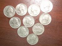 Отдается в дар Liberty quarter dollar