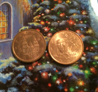 Отдается в дар Монетки 2 евроцента