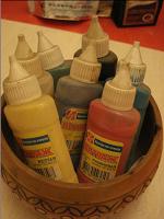 Отдается в дар краски витражные