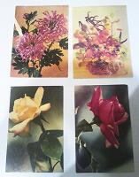 Отдается в дар Открытки (Цветы)