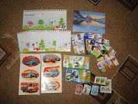 Отдается в дар разное-бумажное в коллекцию (открытка, марки и т.п.)