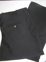 Отдается в дар Тёплые чёрные мужские брюки, 56 размер