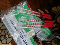 Отдается в дар Инсулиновые шприцы
