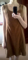 Отдается в дар Горчичное платье