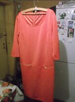 Отдается в дар Платье — XL + водолазка — Zolla