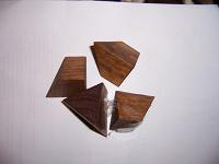 Отдается в дар деревянная головоломка.
