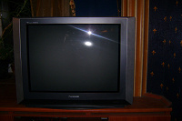 Отдается в дар Большой телевизор Panasonic рабочий