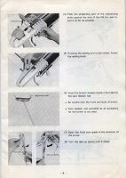 Отдается в дар Инструкция к вязальной машине KRC-830 (Симак, Япония)