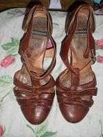 Отдается в дар Фирменные туфли VAGABOND 38р.