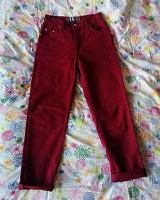 Отдается в дар Бардовые джинсы