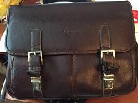Отдается в дар Мужской портфель-сумка