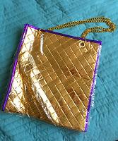 Отдается в дар золотая сумка