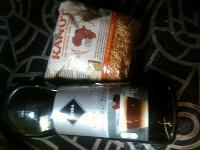 Отдается в дар Шоколадный сироп и камут (крупа)
