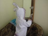 Отдается в дар новогодний костюм зайца…