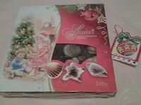 Отдается в дар Коробка вкуснейших конфет в нарядной упаковке в честь праздника)