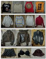 Отдается в дар Женская одежда (40, 42, 46 размеры): топики, футболки, блузка, куртки, юбка, бюстгальтер, шляпа