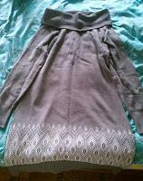 Отдается в дар Вязанное платье.