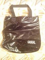 Отдается в дар 2 черные сумки