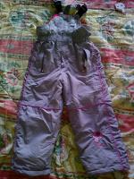Отдается в дар Зимние штаны- комбезики