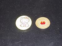 Отдается в дар Монетка китайская на счастье и Китти